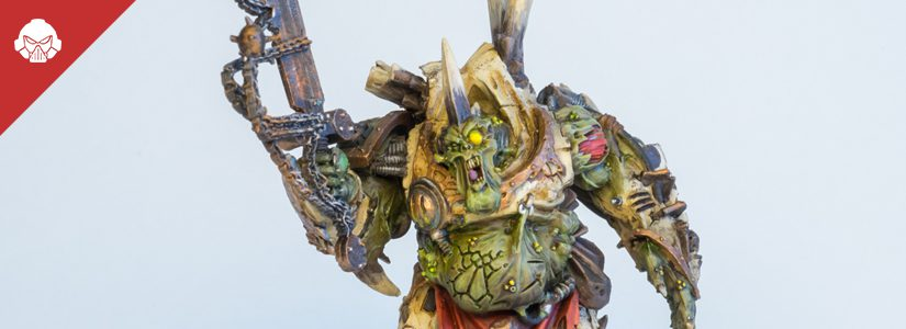 Showcase: Death Guard Daemon Prince