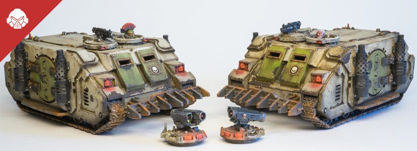 Showcase: Death Guard Rhinos