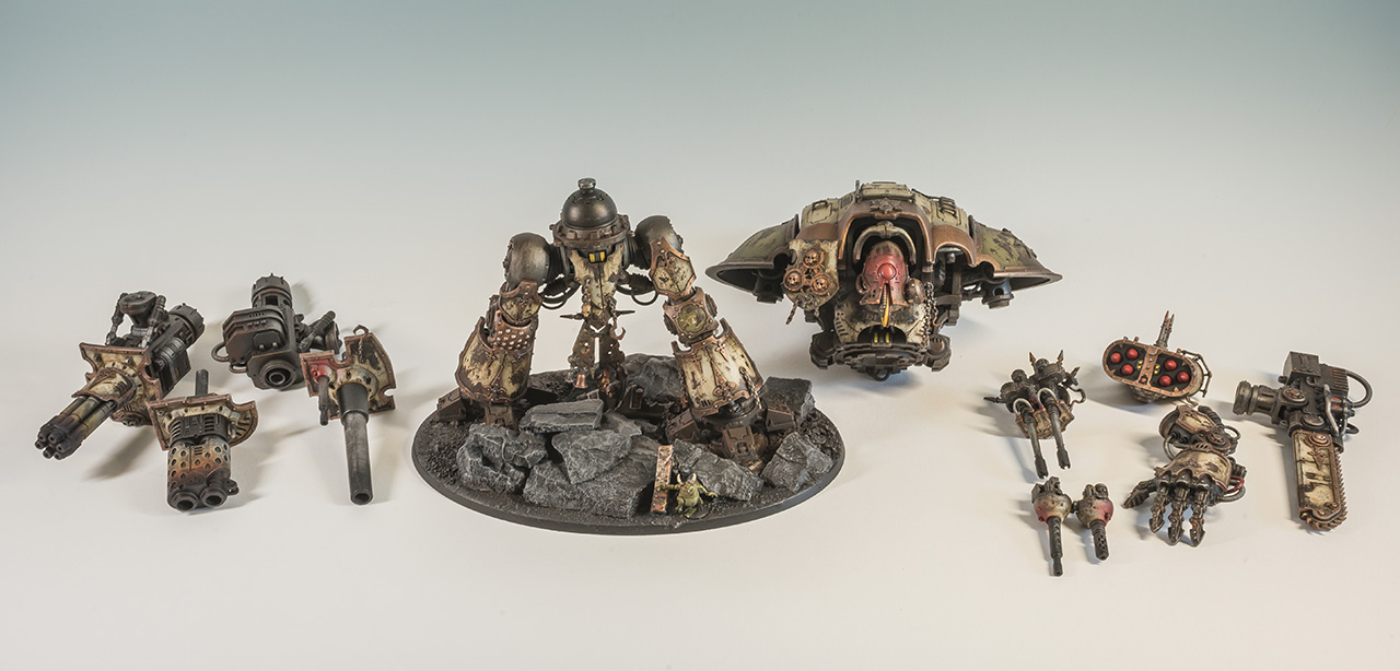 Imperial Knight - Chaos Knight