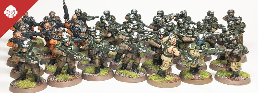 Showcase: Cadian Conscripts