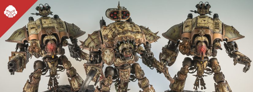 Showcase: Death Guard Imperial Knights