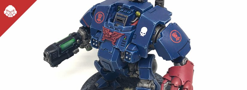 Showcase: Crimson Fists Redemptor Dreadnought