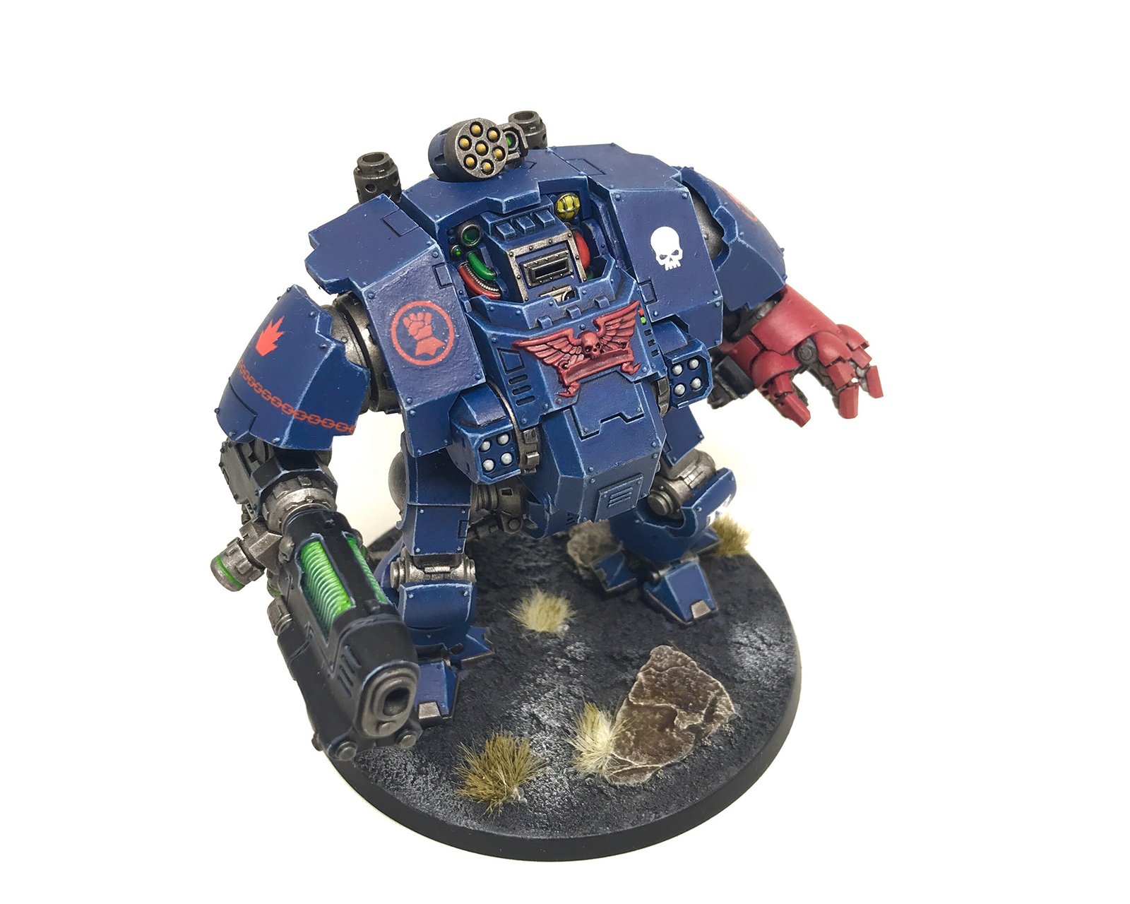 Crimson Fists Redemptor Dread