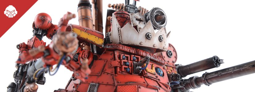 Showcase: Buzzgob and his Big Mek Stompa