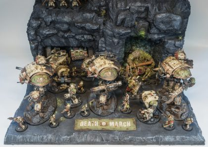 MakingMaking of Death Guard AoP Displayof Death Guard AoP Display