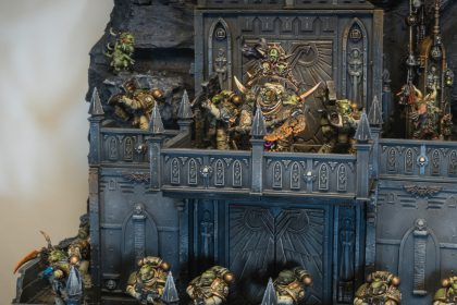 Making of Death Guard AoP Display