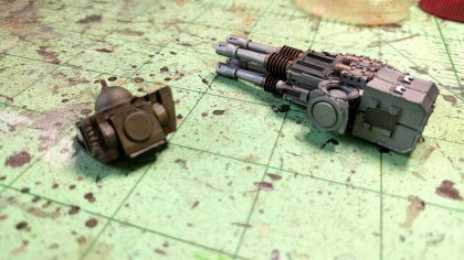 Magnetizing Leviathan Dreadnought - Arm Weapons