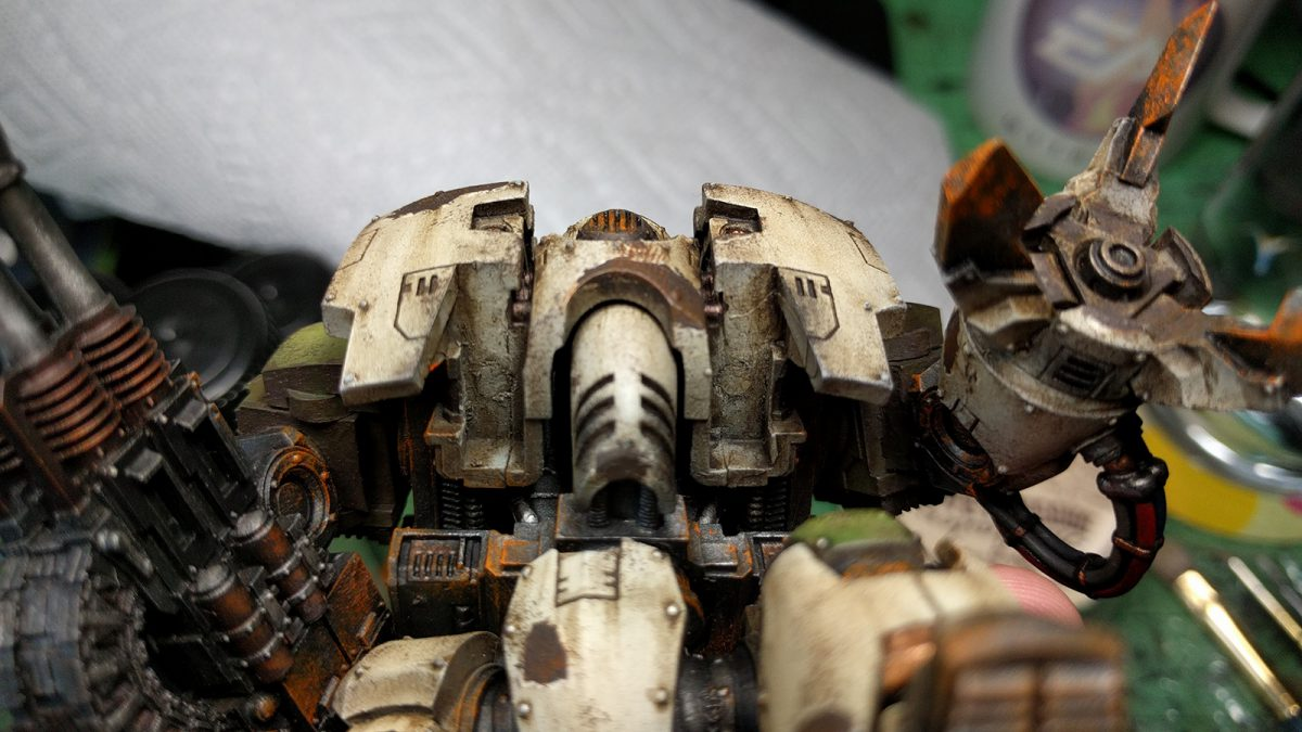 Magnetizing Leviathan Dreadnought - Chest Weapons