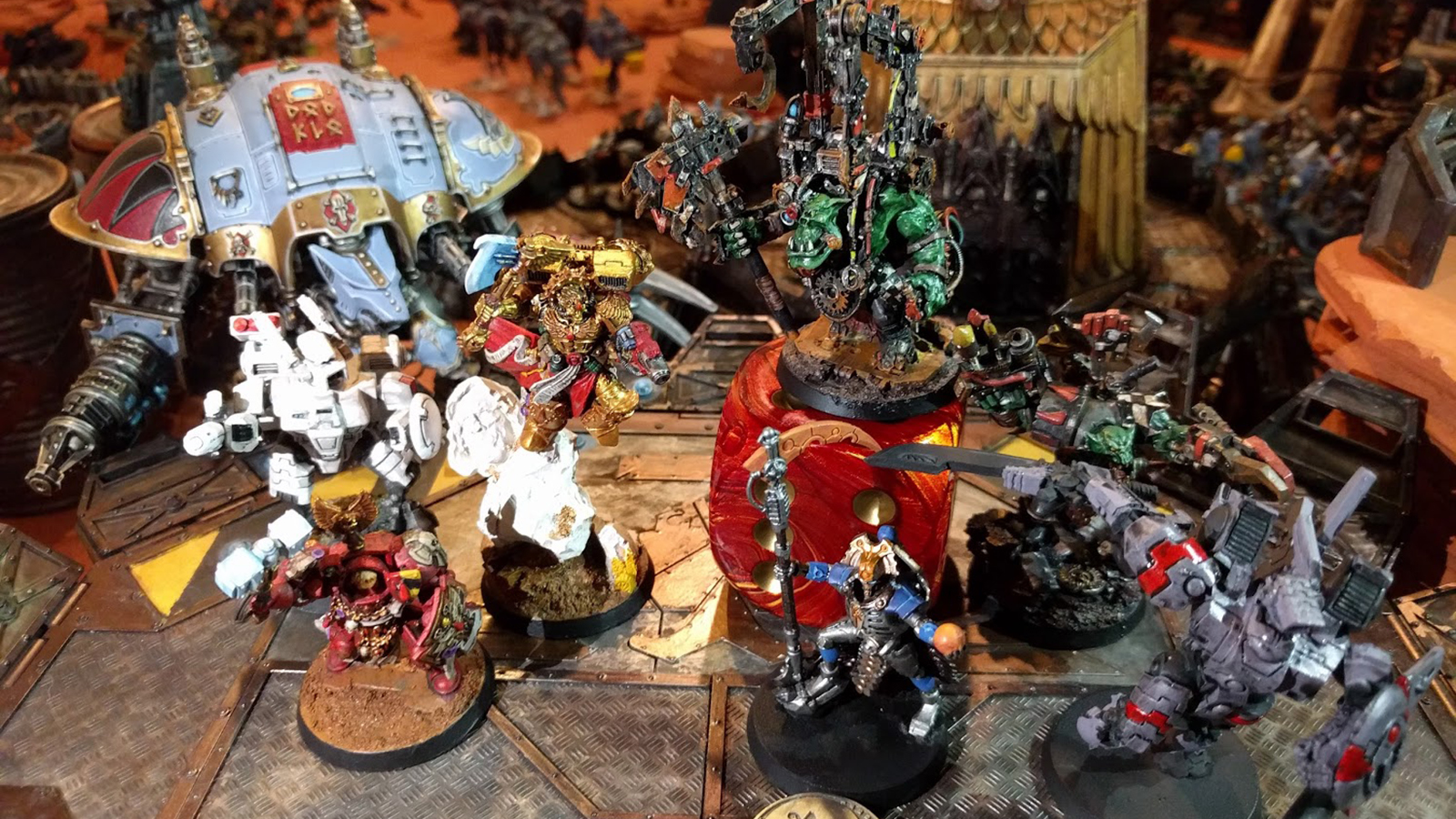 Team Waaagh with the Victory!