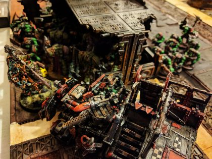 Orks v Death Guard