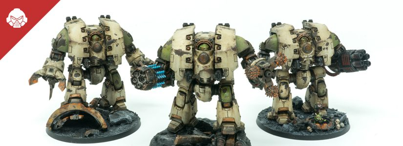 Showcase: More Death Guard Leviathans