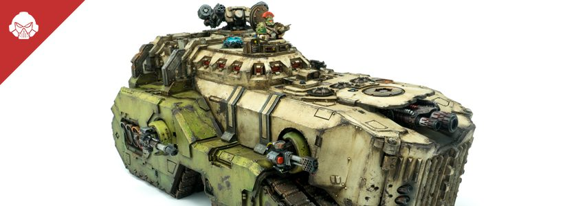 Showcase: Death Guard Mastodon
