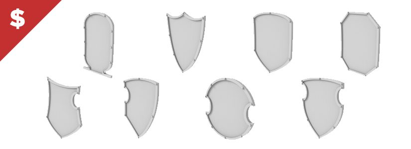 Shop: Imperial Knight Chest Shields
