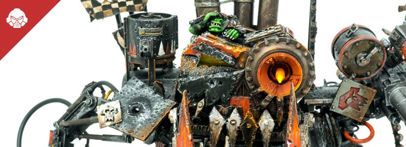 Showcase: Ork Goff Stompa