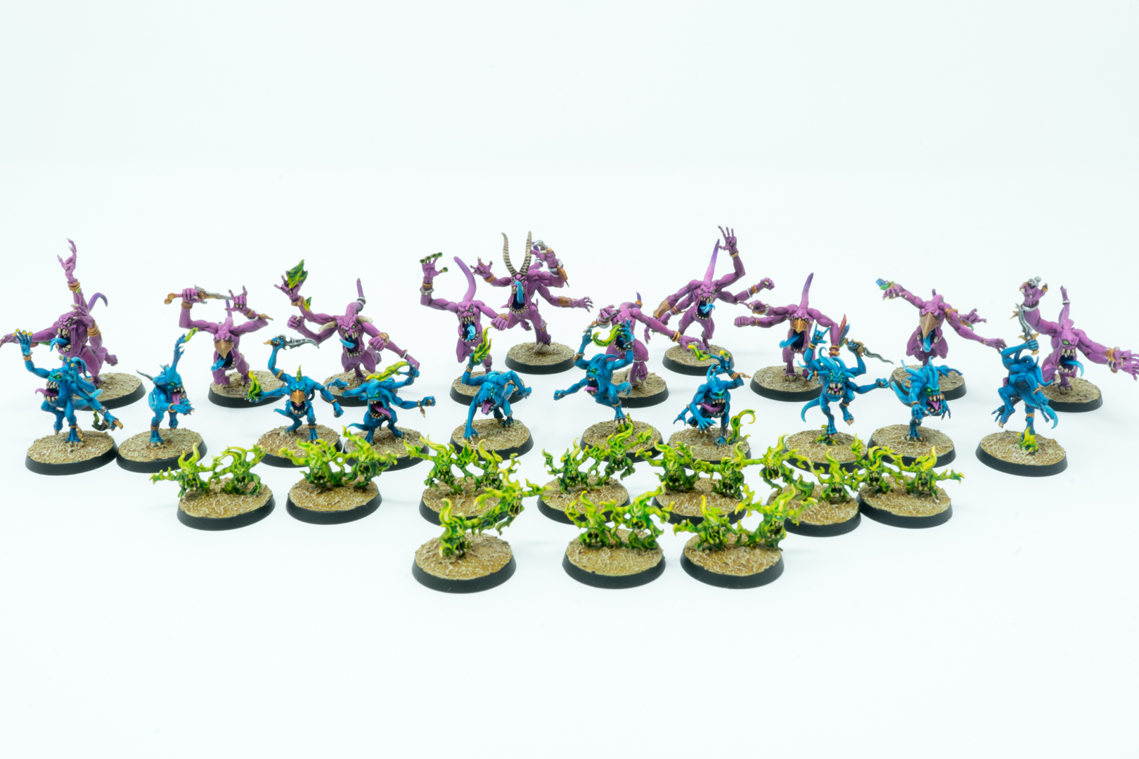 Pink, Blue and Brimestone Horrors