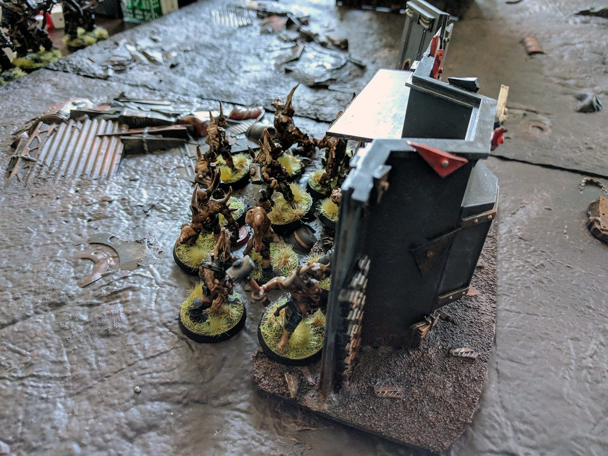 Orks v. Death Guard