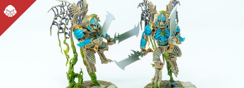 Showcase: Daemon Princes of Tzeentch