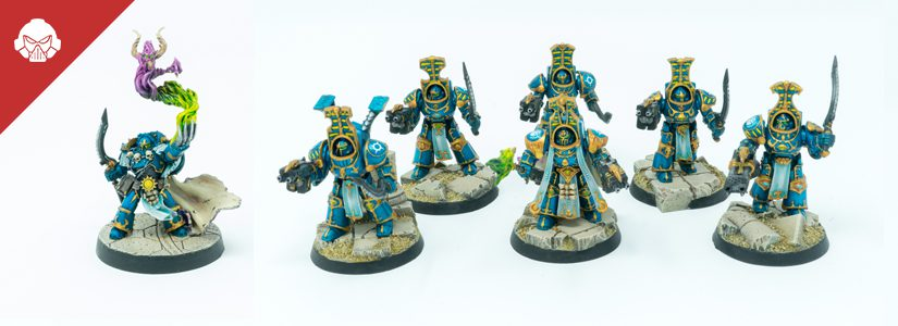 Showcase: Thousand Sons Terminators