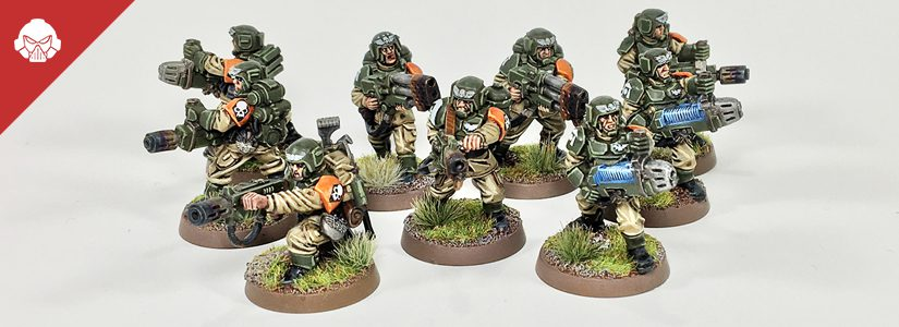 Showcase: Cadian Special Weapons Squad