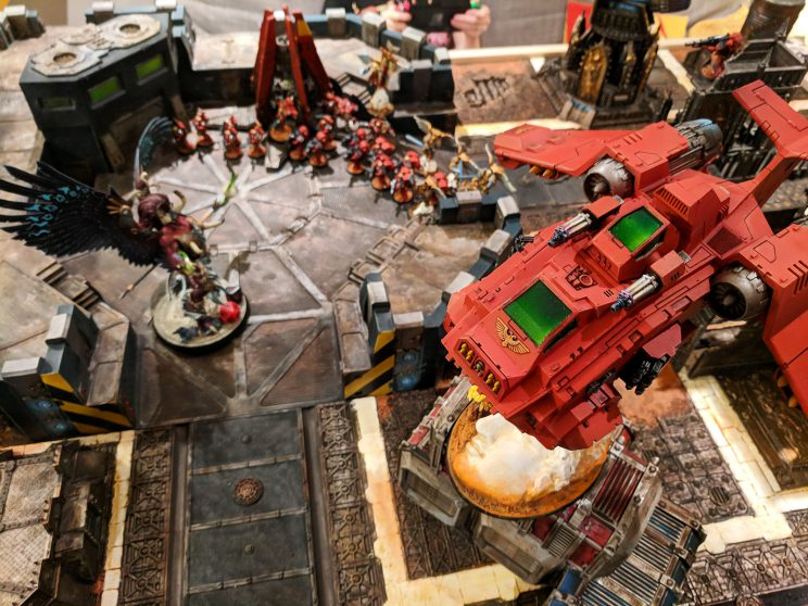 Chaos v. Blood Angels