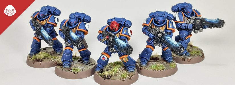 Showcase: 6th Company Ochres Ultramarines