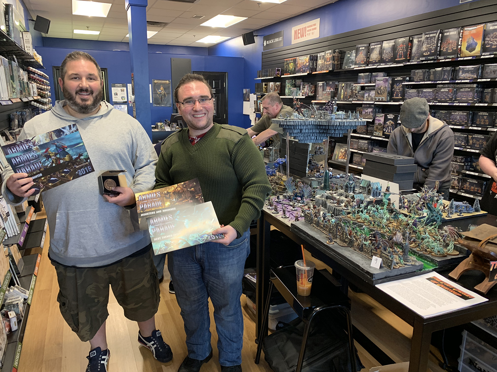 Armies on Parade - Winners in PA