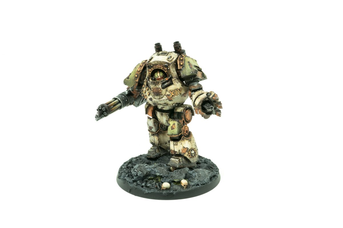 Death Guard Contemptor Dreadnought
