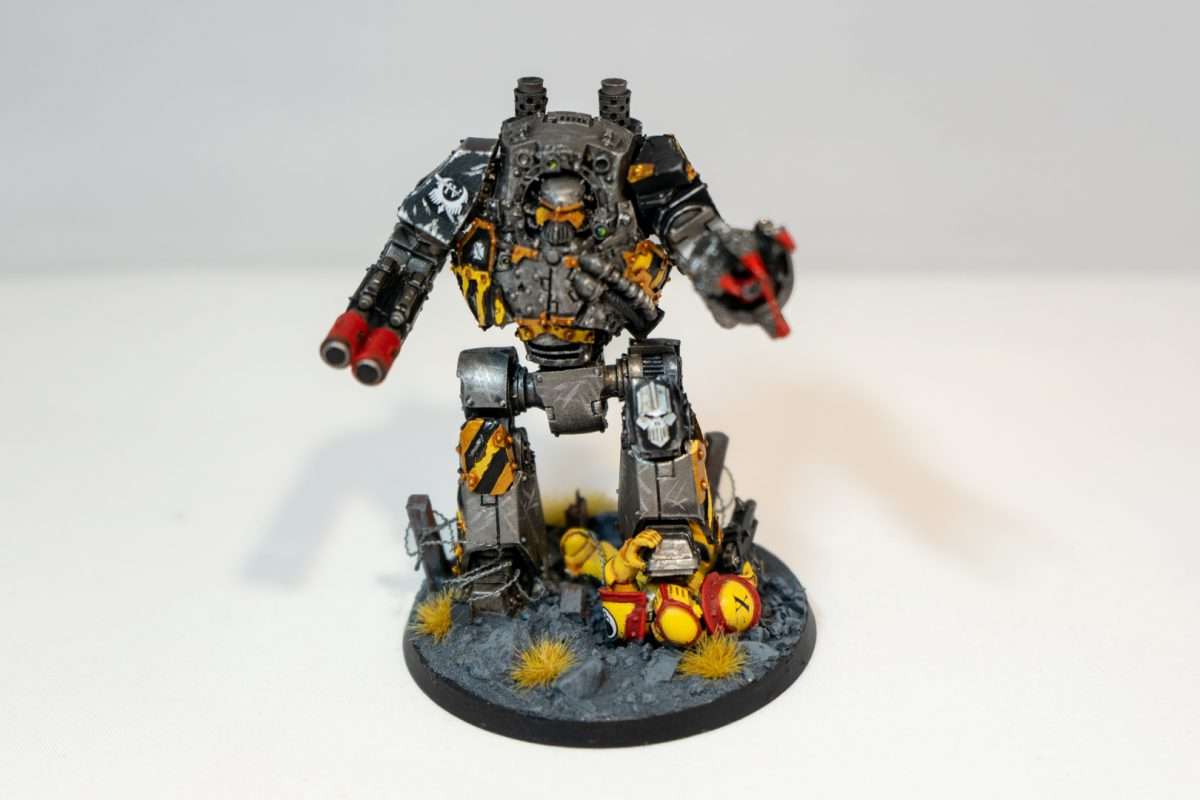 Iron Warriors Contemptor Dreadnought