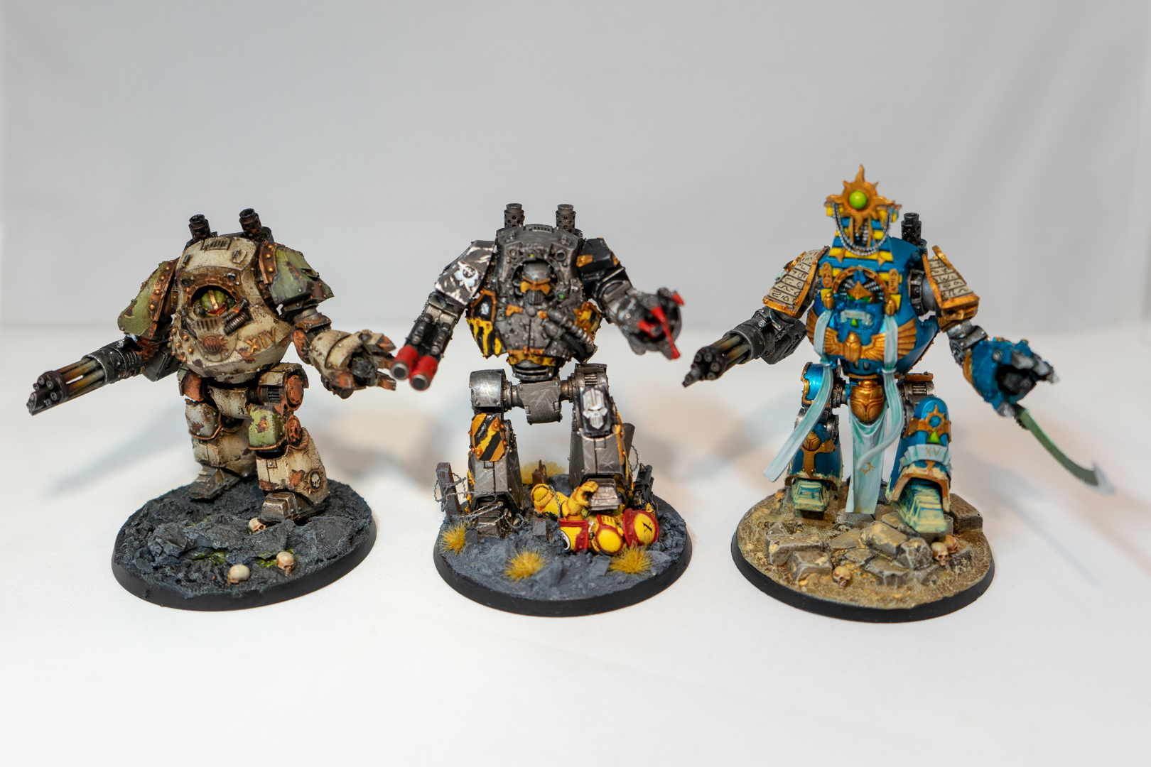 Traitor Legion Dreadnoughts