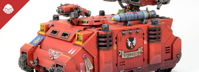 Showcase: Blood Angels Whirlwind