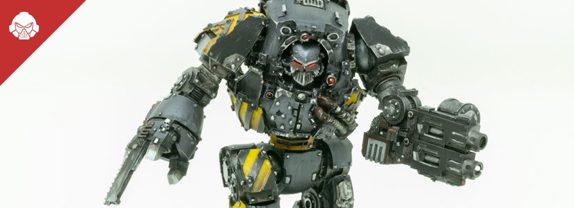 Showcase: Iron Warriors Contemptor Dreadnought
