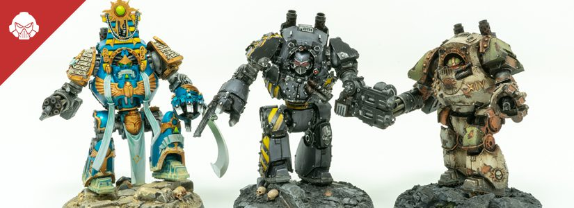 Video Showcase: Traitor Legion Dreadnoughts