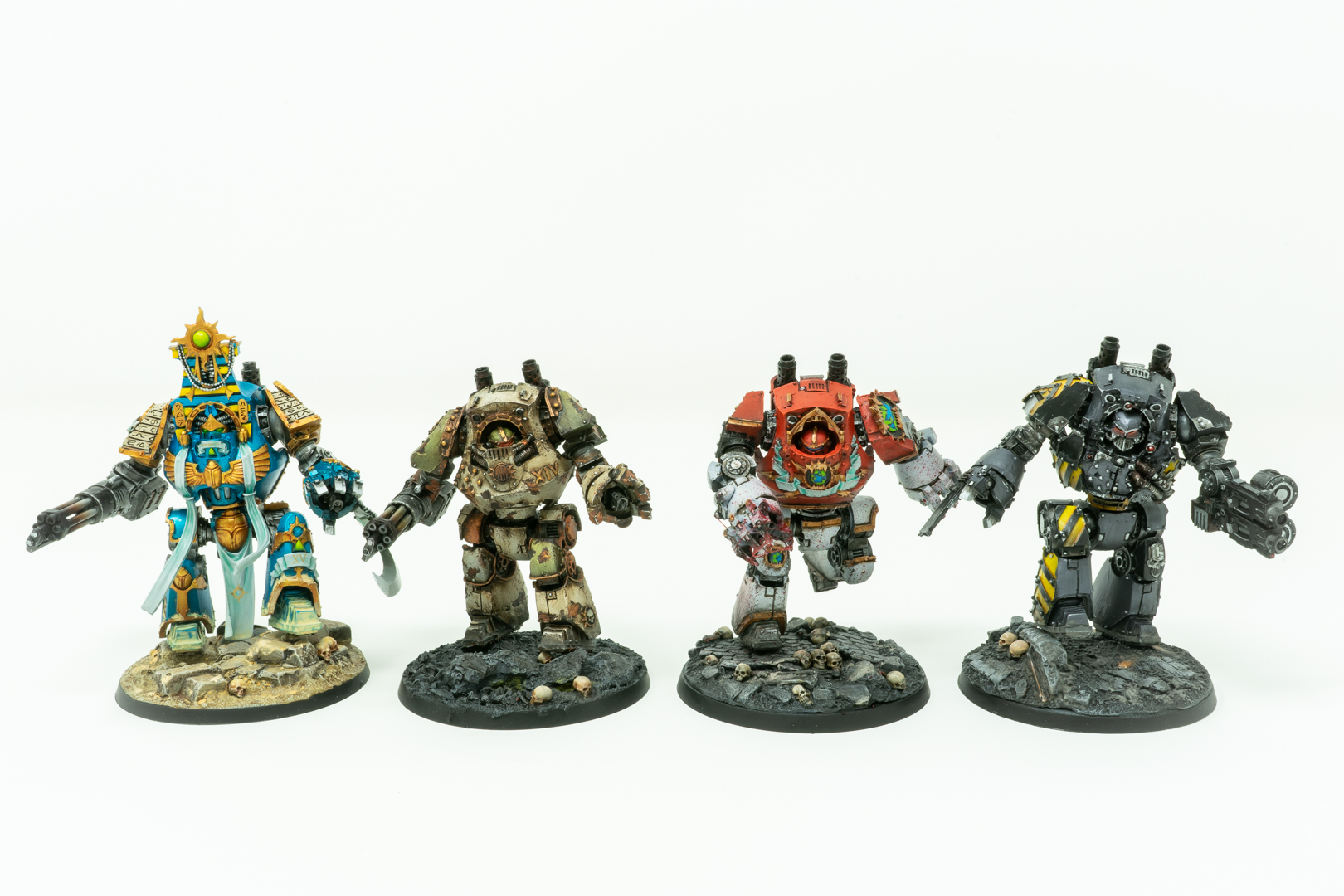 Chaos Legion Contemptor Dreadnoughts