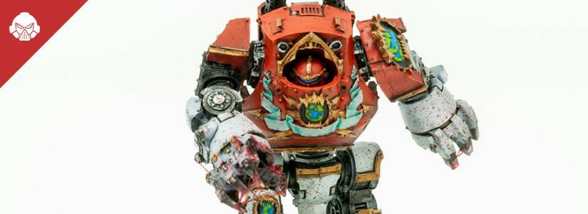 Showcase: World Eaters Contemptor Dreadnought