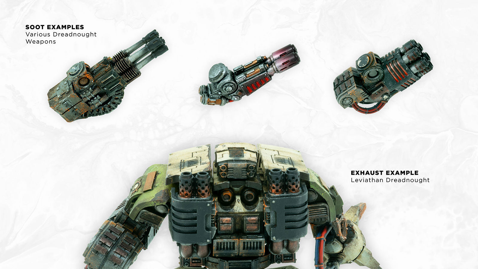 How to Paint: Soot and Exhaust with an Airbrush