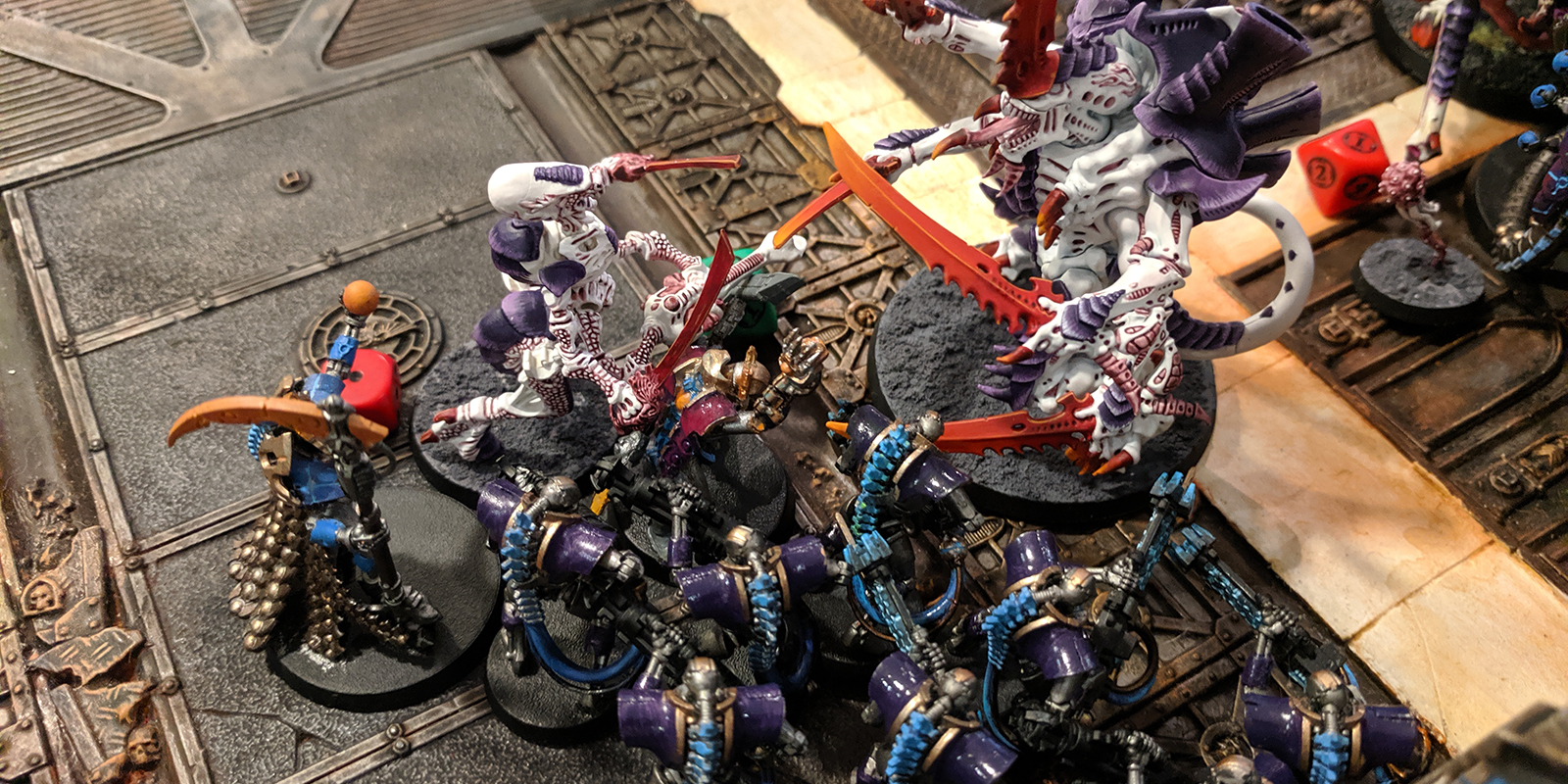 Brookhammer Cup - Necrons v. Tyranids