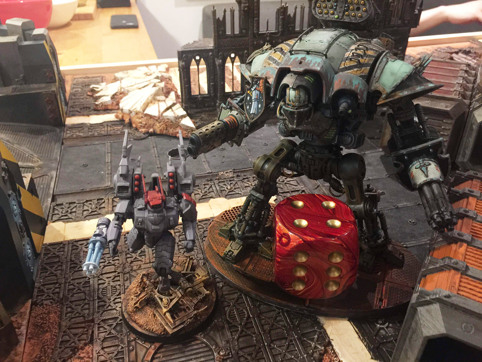 Brookhammer Cup - Tau v. Imperial Knights