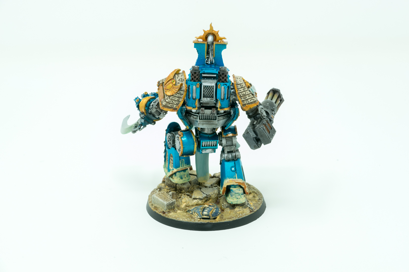 Thousand Sons Contemptor Dreadnought