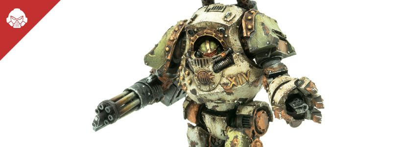Showcase: Death Guard Contemptor Dreadnought
