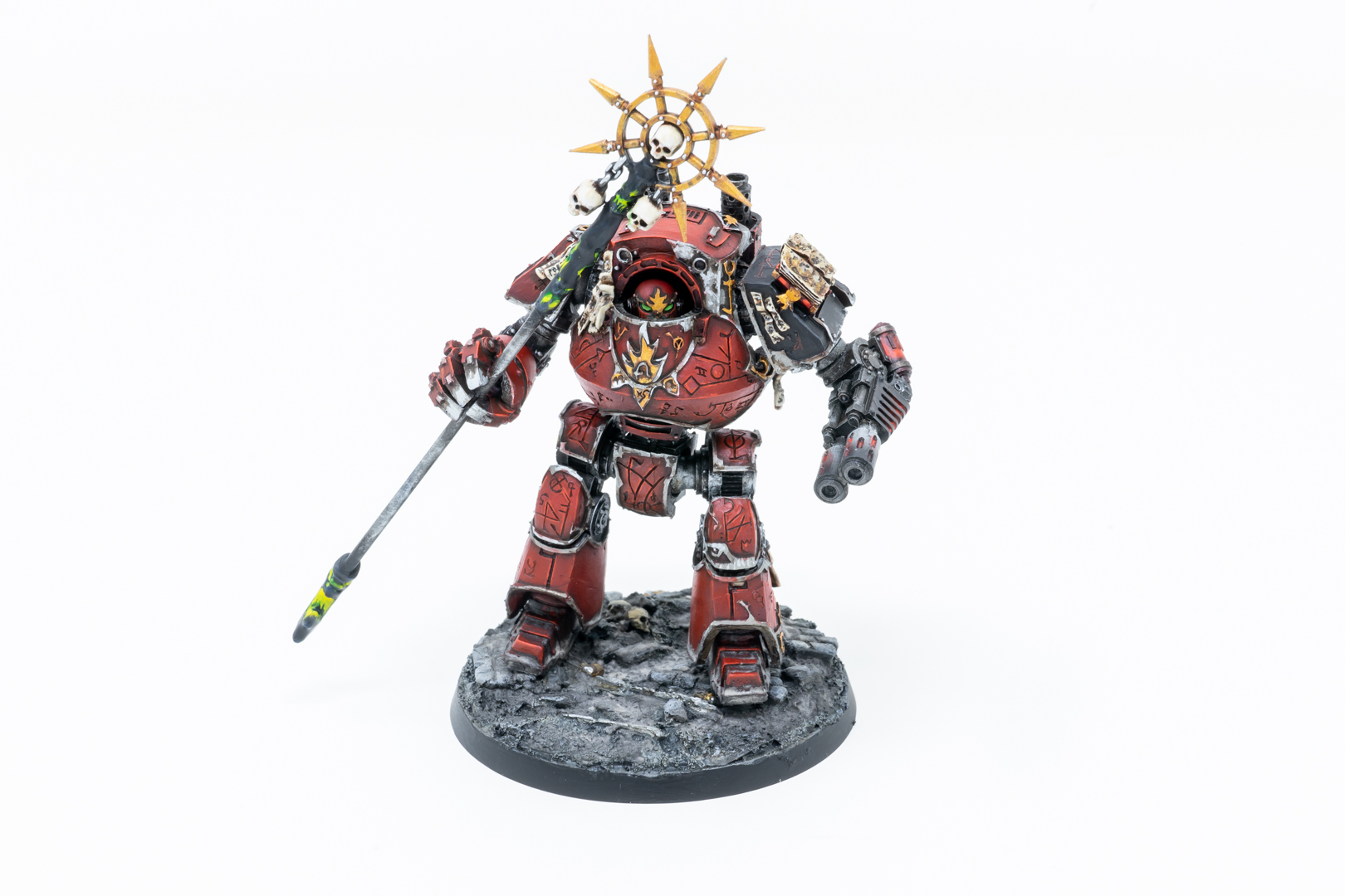 Word Bearers Contemptor Dreadnought