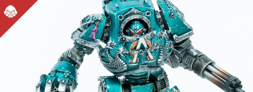 Showcase: Alpha Legion Contemptor Dreadnought