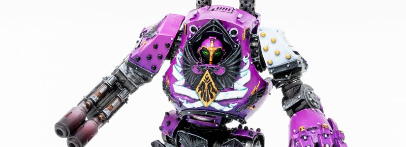 Showcase: Emperors Children Contemptor Dreadnought
