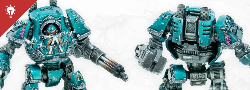 Tutorial: How to paint Alpha Legion