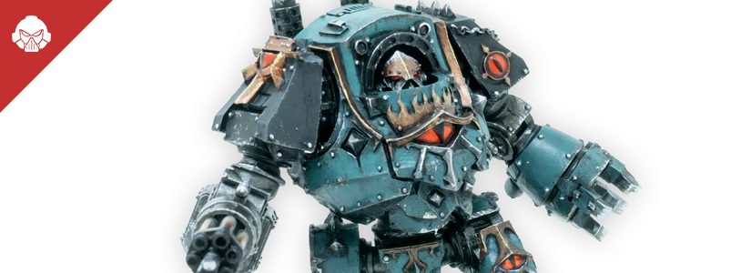 Showcase: Sons of Horus Contemptor Dreadnought