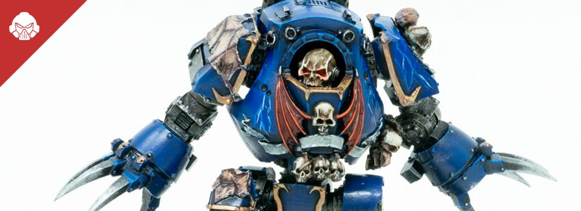 Showcase: Night Lords Contemptor Dreadnought