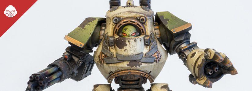 Showcase: Death Guard Contemptor Dreadnought