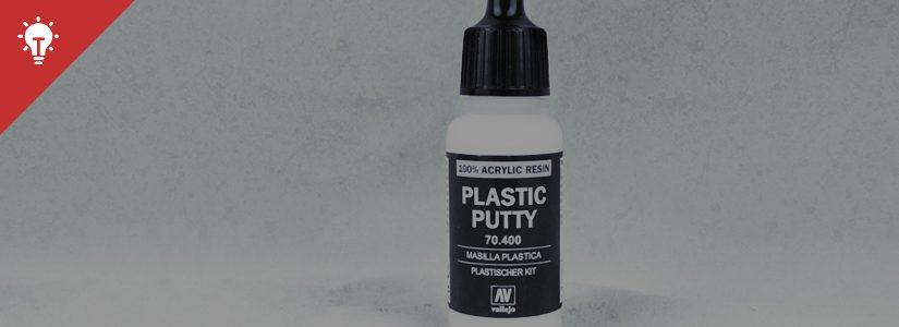 Tutorial: Using Vallejo Plastic Putty