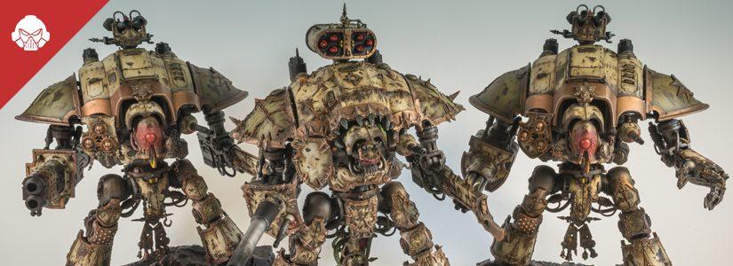 Showcase: Death Guard Imperial Knights