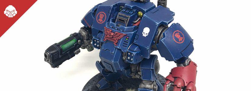 Showcase: Crimson Fists Redemptor Dreadnought