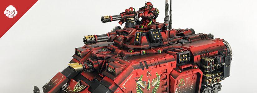 Showcase: Repulsor Tank